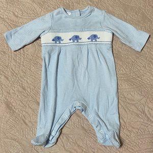 Edgehill Collection - Elephant Smock Onesie